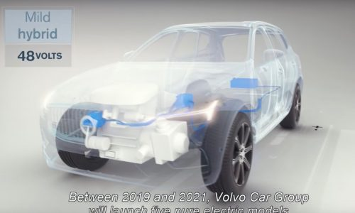 Volvo will launch 5 EVs by 2021, every model at least mild hybrid