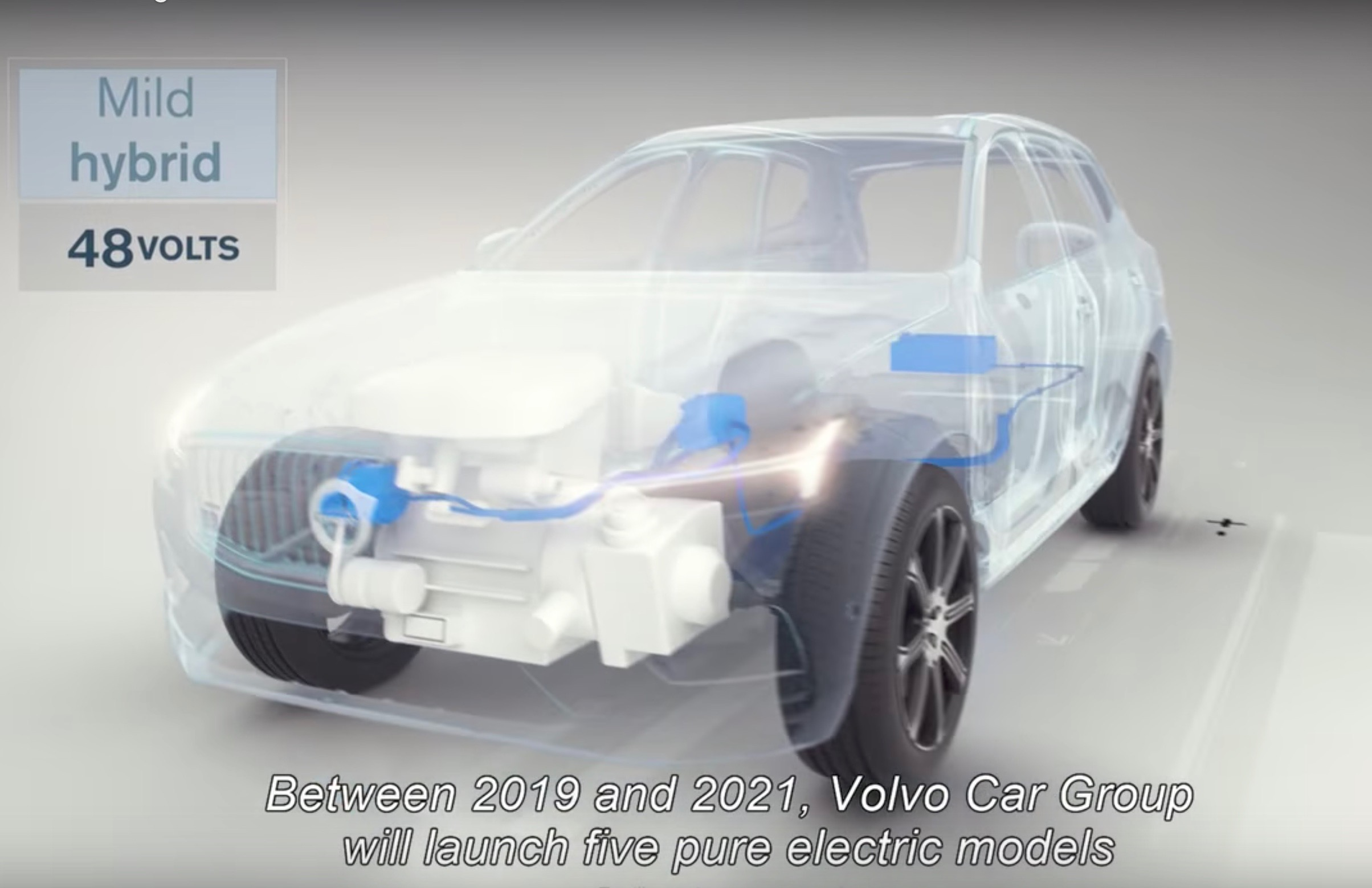 Volvo Xc60 Hybrid >> Volvo will launch 5 EVs by 2021, every model at least mild