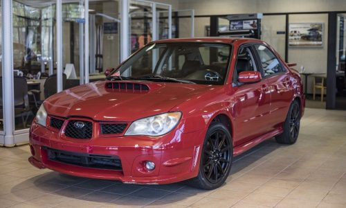 For Sale: 2006 Subaru WRX from Baby Driver film, RWD conversion