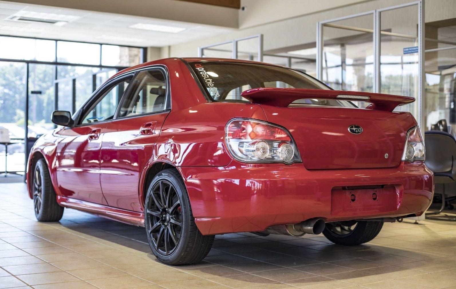 Subaru Wrx From Baby Driver Rear