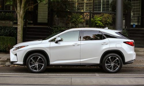 Lexus RX 'L' 7-seater close to production, prototypes spotted