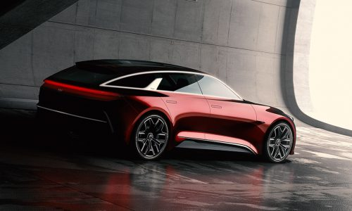 """Striking Kia """"extended hot hatch"""" concept previews next cee'd"""