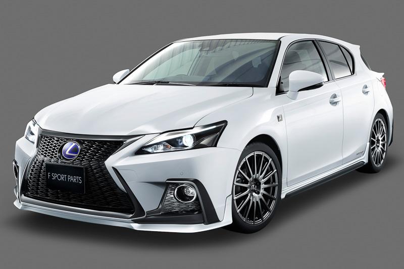 Trd Develops Enhancement Kit For New Lexus Ct 200h Performancedrive