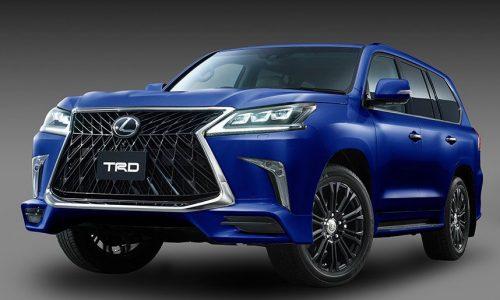 TRD introduces aero kit for Lexus LX 570