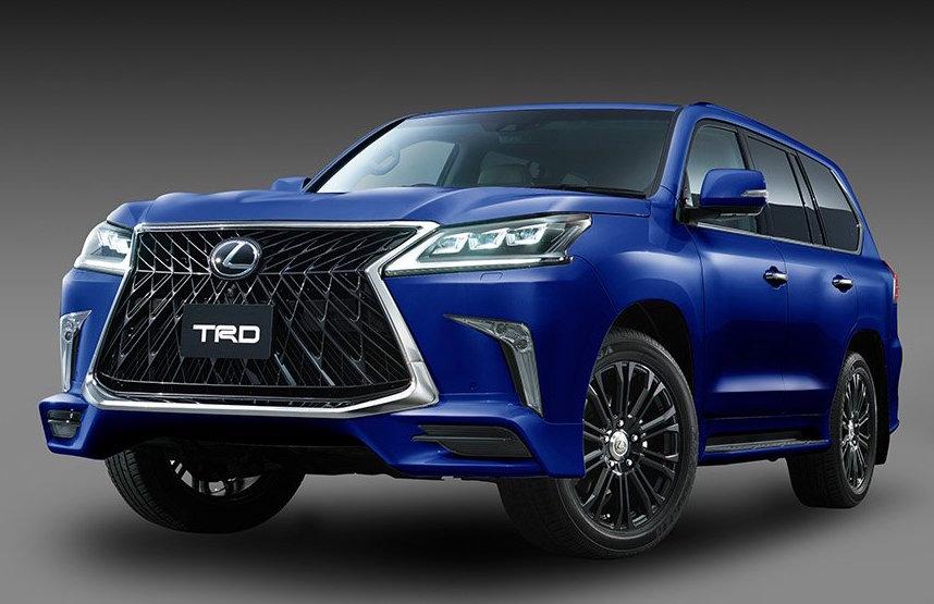 TRD introduces aero kit for Lexus LX 570 | PerformanceDrive