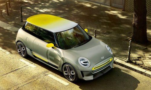 Funky MINI Electric Concept previews 2019 EV