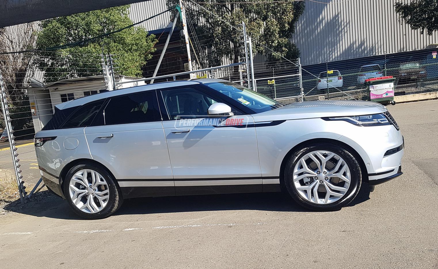 Land Rover Range Rover Velar First Edition >> Range Rover Velar spotted in Australia again, D240 & D300 ...