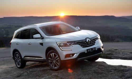 2017 Renault Koleos diesel now on sale in Australia