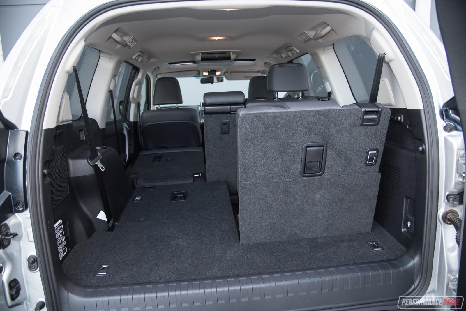 Toyota Prado Altitude Min Cargo Space on Toyota Land Cruiser Off Road