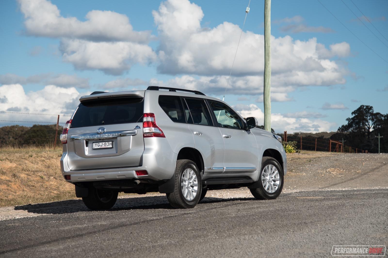 2017 Toyota Prado Altitude Review Video Performancedrive