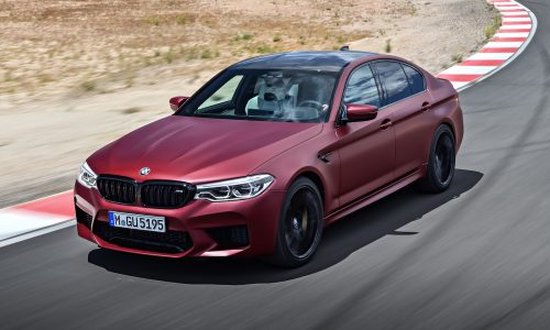 2018 BMW M5 officially revealed: 0-100km/h in 3.4 seconds