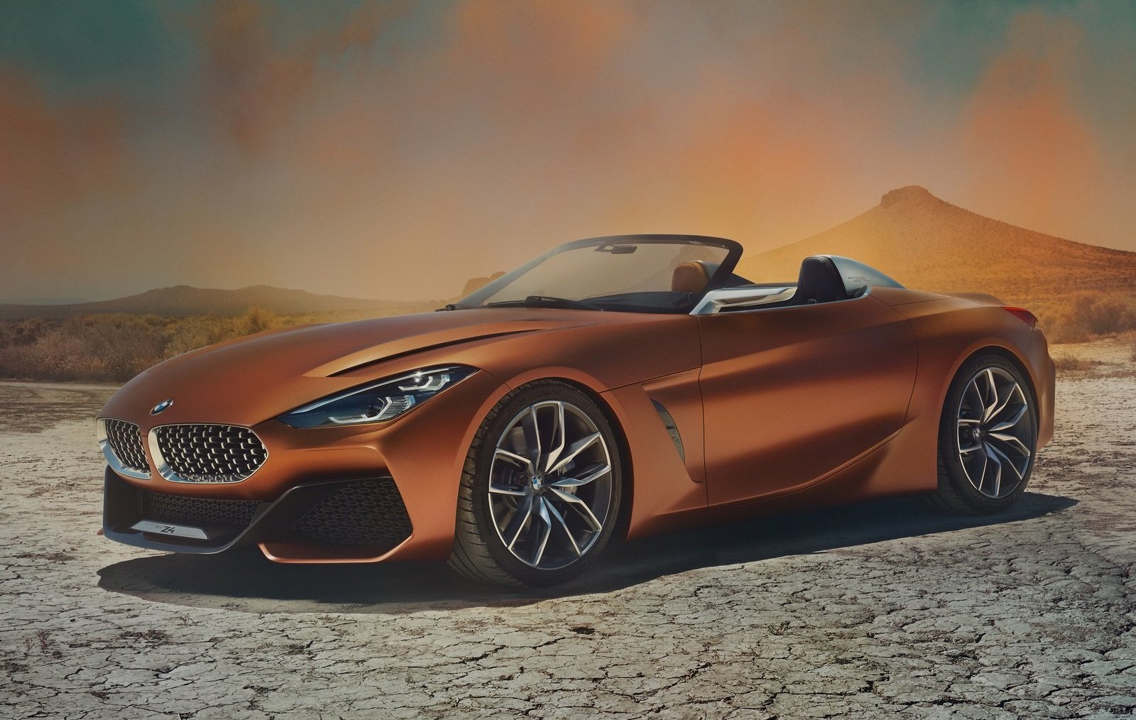 Mercedes Benz Long Beach >> BMW Z4 Concept revealed, production model coming in 2018 | PerformanceDrive