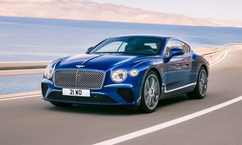 2018 Bentley Continental GT unveiled, debuts 8spd dual-clutch auto