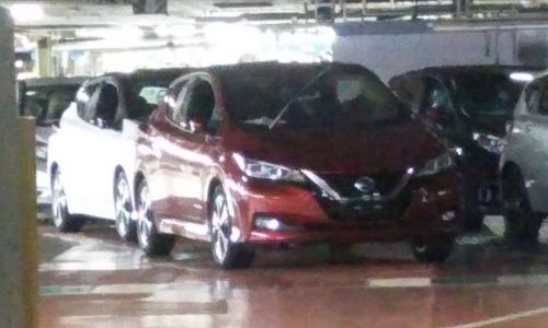 Nissan LEAF spotted again, 110kW AC motor confirmed