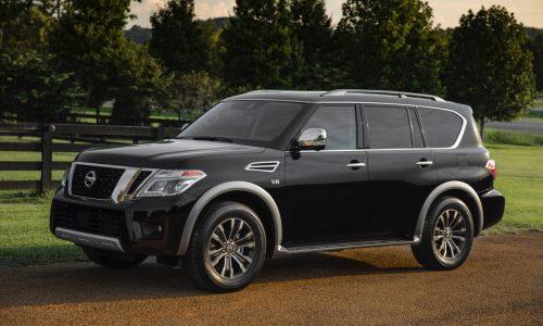 2018 Nissan Patrol (Armada) Y62 announced in the US, added tech