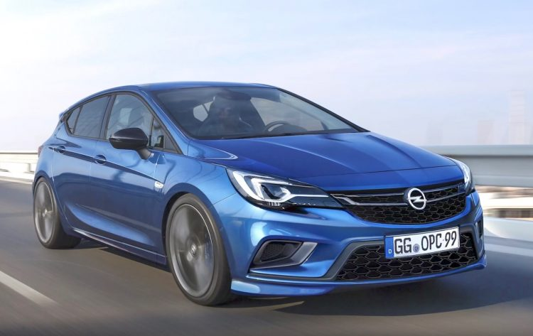 2018 Opel Astra OPC in the works, getting 300hp 1.6 turbo ...