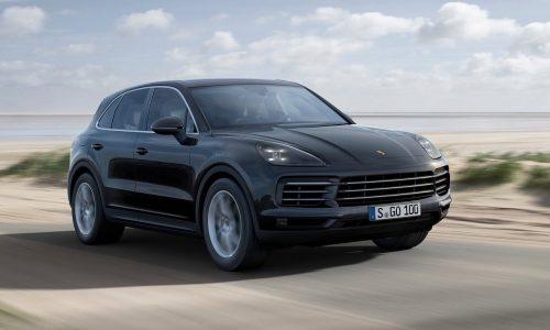 2018 Porsche Cayenne officially revealed
