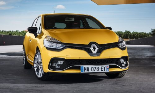 2018 Renault Clio R.S. on sale in Australia from $30,990