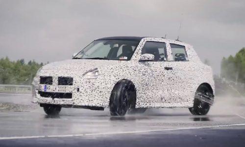 2018 Suzuki Swift Sport struts its stuff on proving ground (video)
