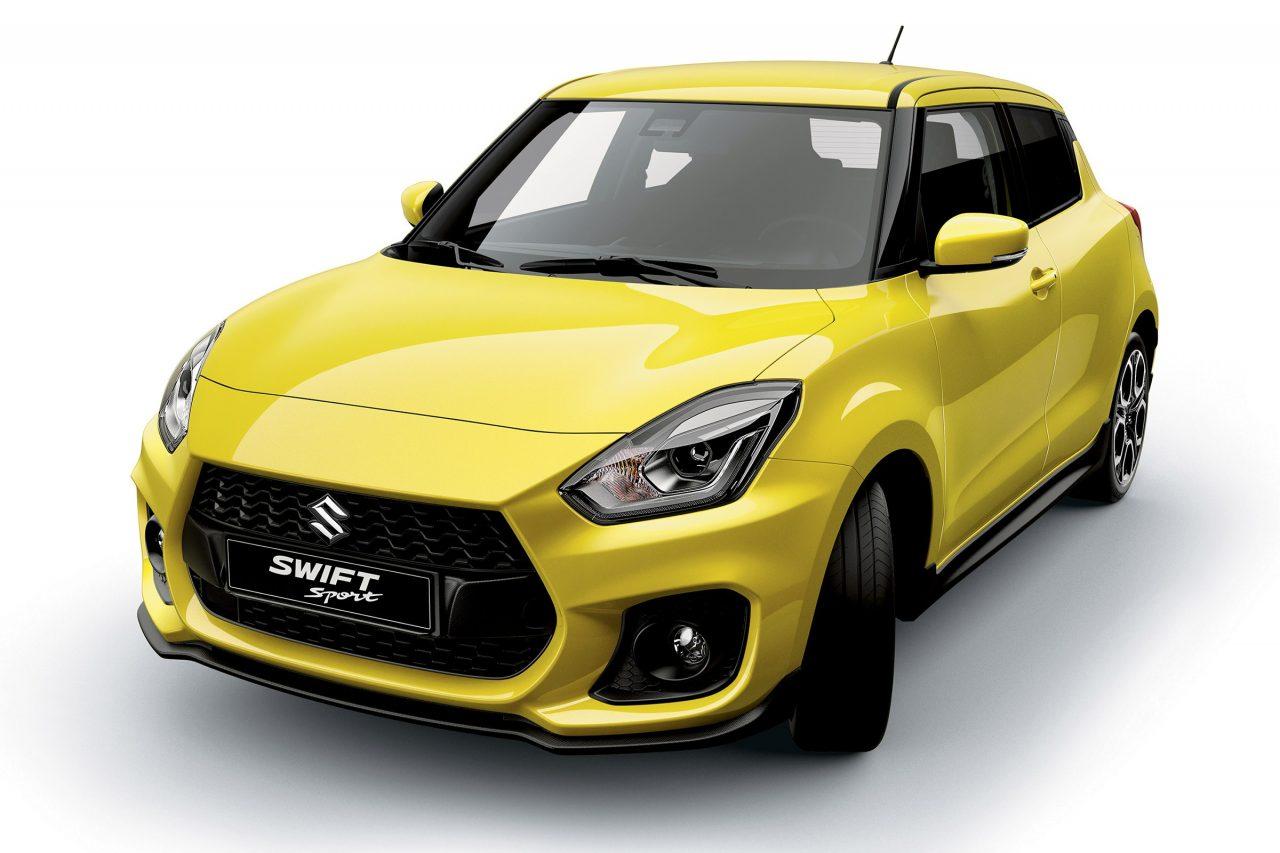 2018 Suzuki Swift Sport interior confirms manual, 1.0T ...