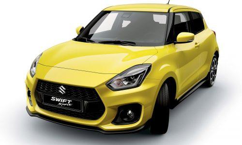 2018 Suzuki Swift Sport interior confirms manual, 1.0T suspected