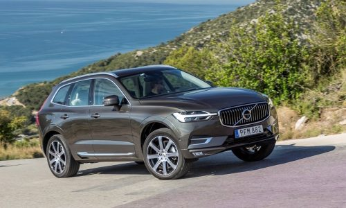 2018 Volvo XC60 on sale in Australia from $59,990