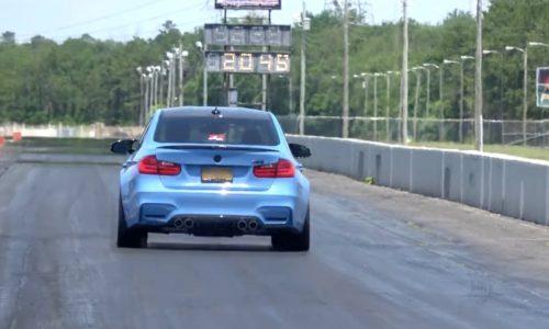 BMW M3 F80 sets world record quarter mile (video)