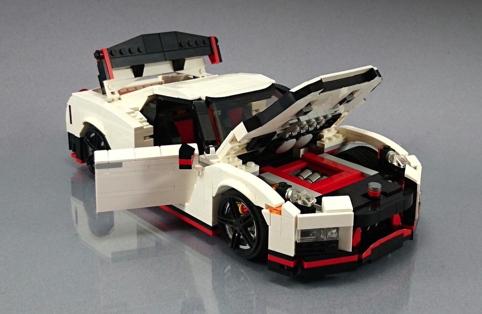 Lego Nissan Gt R Nismo Engine on Jaguar S Type V6 Engine