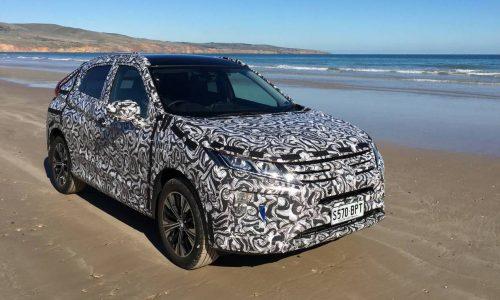 Mitsubishi Eclipse Cross undergoes Australian testing