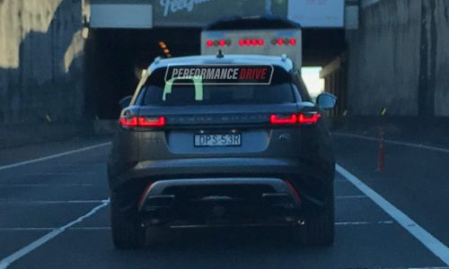 Range Rover Velar spotted in Australia ahead October debut