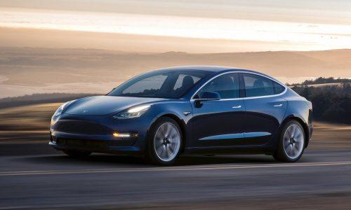 EPA reveals Tesla Model 3 power output & kerb weight