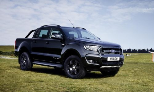Ford Ranger Black Edition announced in Europe