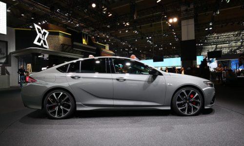 2018 Holden Commodore VXR shows off sporty design at Frankfurt