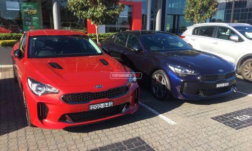 Kia Stinger GT spotted in Australia ahead local launch