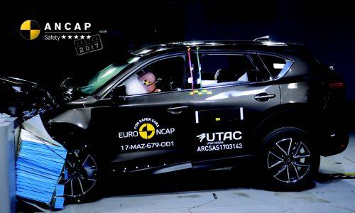 2017 Mazda CX-5, Mercedes C-Class cabrio score 5-star ANCAP safety