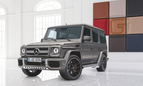 Mercedes-AMG G 63 & G 65 Exclusive editions announced