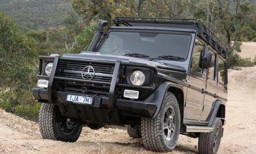 Mercedes-Benz G 300 CDI wagon & dual-cab announced for Australia
