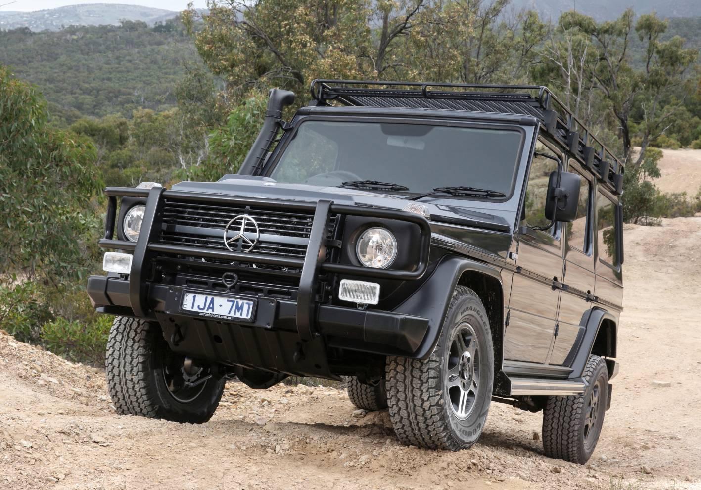 Mercedes Benz G 300 Cdi Wagon Amp Dual Cab Announced For