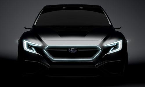 Subaru VIZIV concept previews 2020 WRX, BRZ STI Sport coming