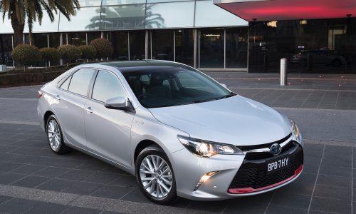 Toyota announces Commemorative Camry, celebrates Aussie production