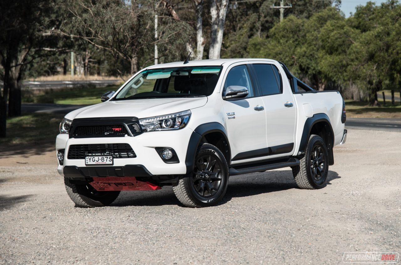 2017 Toyota HiLux TRD review (video) | PerformanceDrive