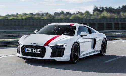 Rear-wheel drive Audi R8 V10 RWS special edition revealed
