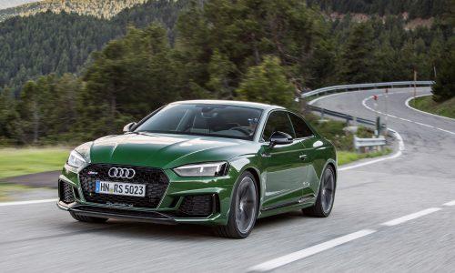 Bi-turbo V6 2018 Audi RS 5 on sale in Australia in December