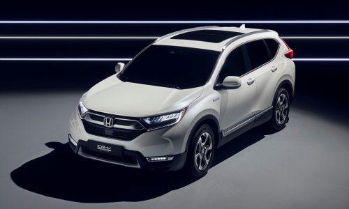 Honda CR-V Hybrid Prototype revealed, on sale in Europe next year