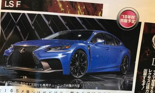 Lexus LS F twin-turbo V8 to debut at Tokyo –rumour