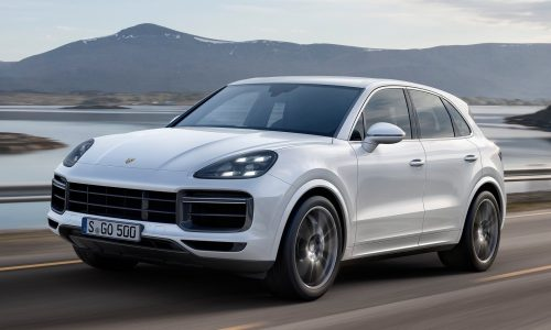 2018 Porsche Cayenne Turbo unveiled at Frankfurt show