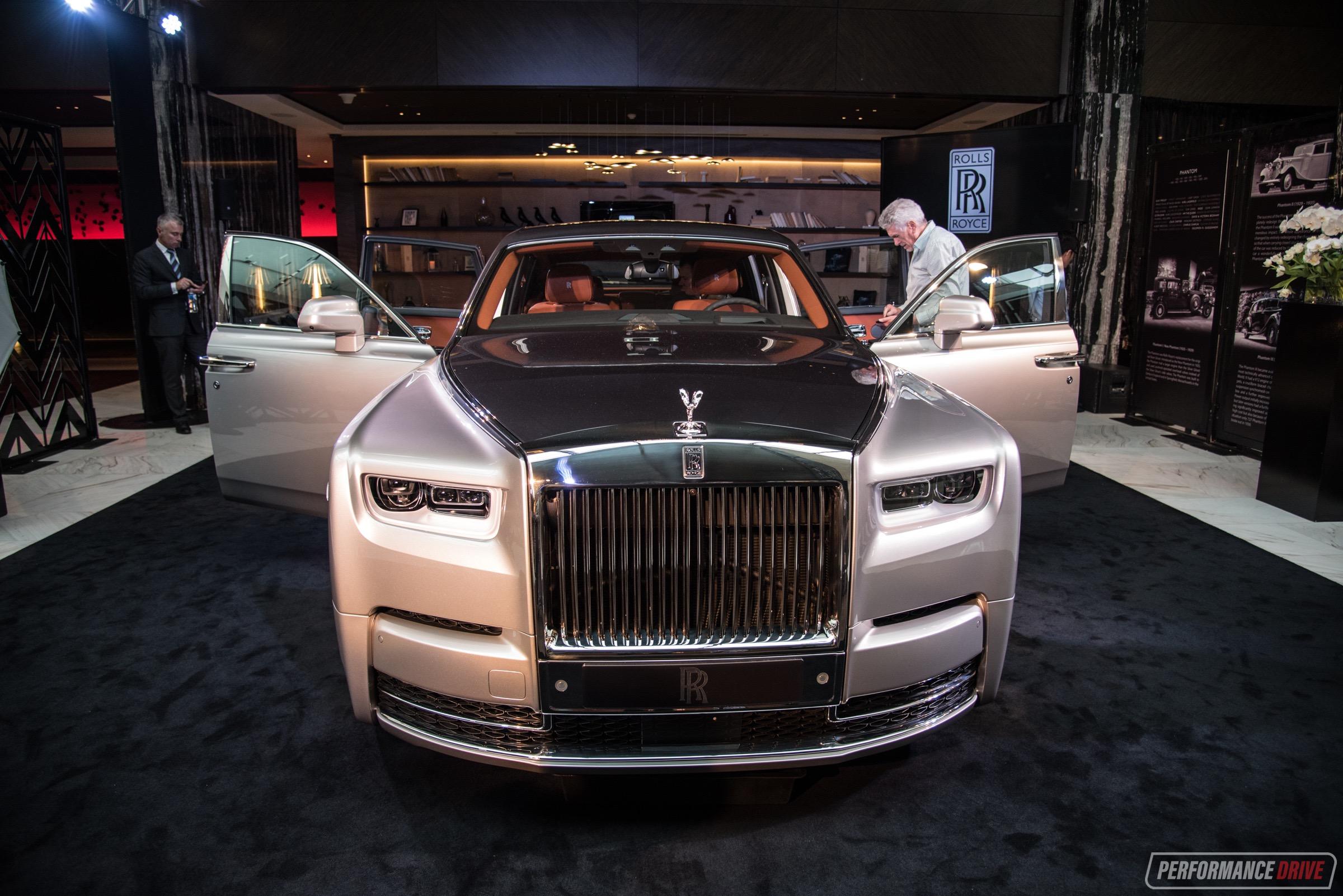 New Rolls Royce Phantom Viii Debuts In Australia