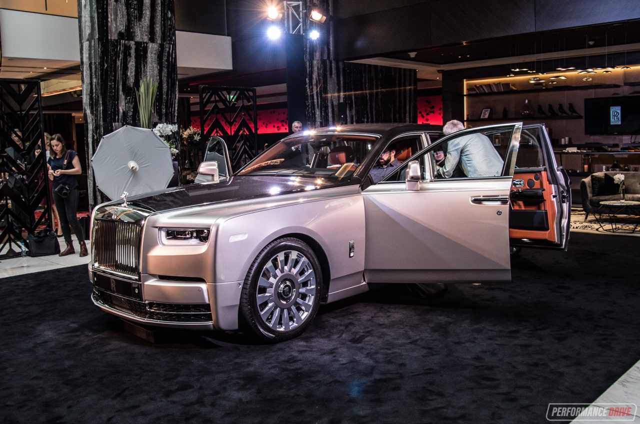 New Rolls Royce Phantom Viii Debuts In Australia
