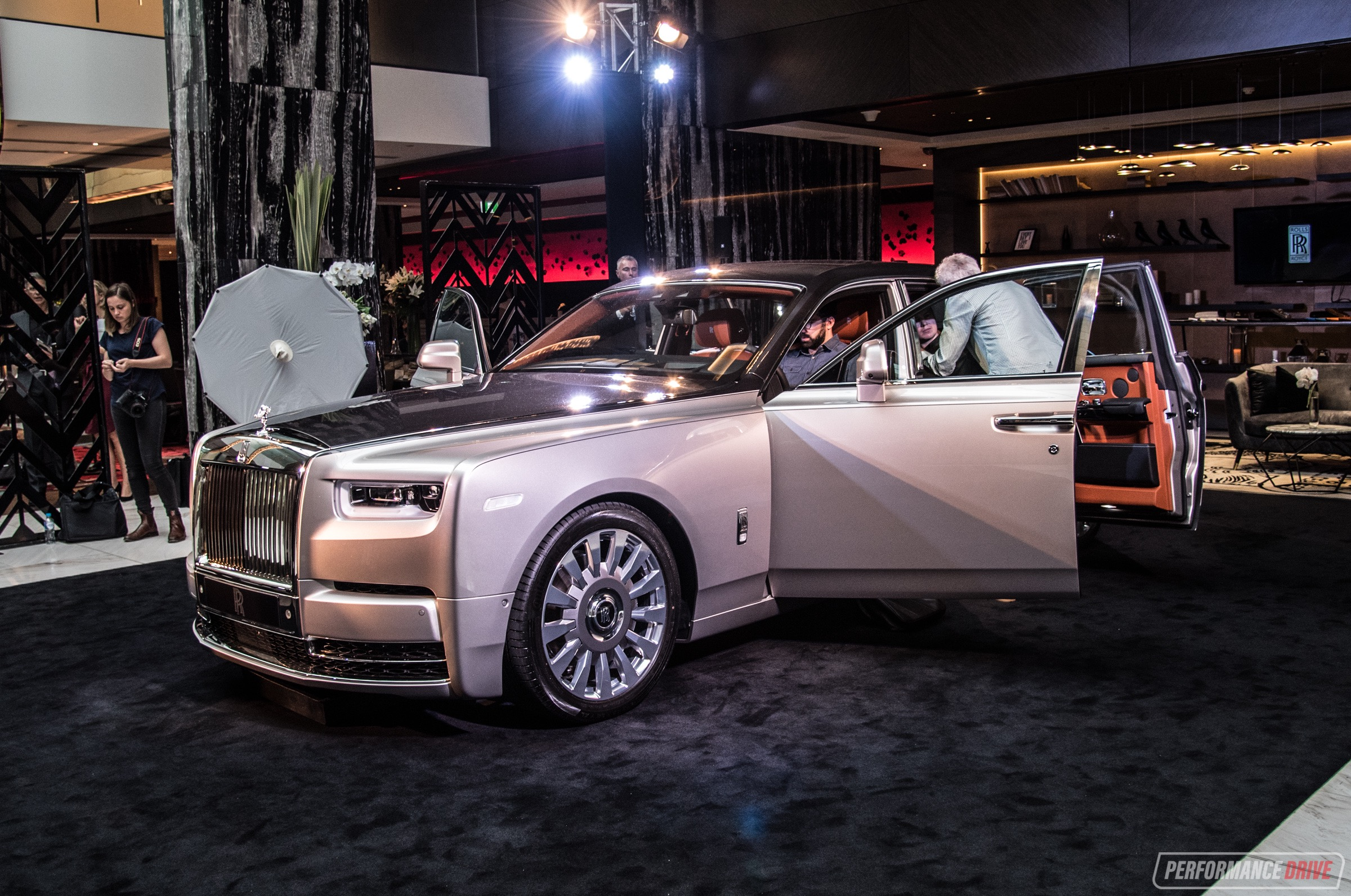 b08fa667e5df New Rolls-Royce Phantom VIII debuts in Australia