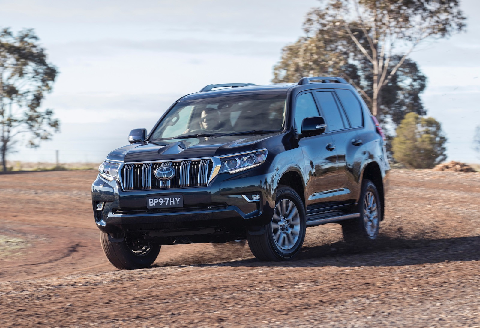 2018 toyota prado revealed on sale in australia in. Black Bedroom Furniture Sets. Home Design Ideas